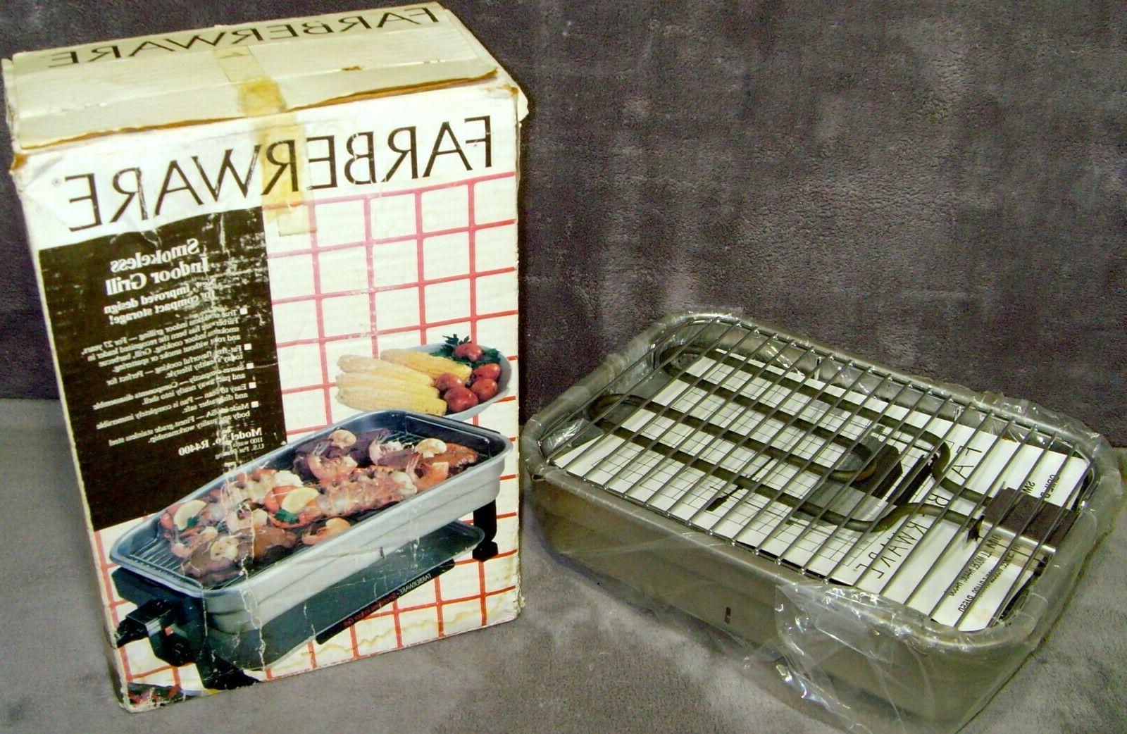 Vintage 1991 n Box Compact Indoor Grill USA