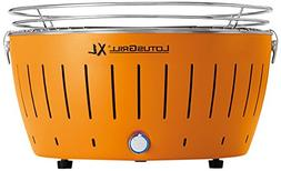 LotusGrill XL Smokeless Charcoal Grill Mandarin Orange