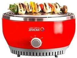 Living Well With Montel MWSG01 Smokeless Indoor Barbeque Gri