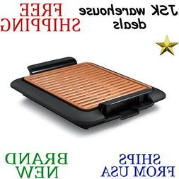 New GOTHAM STEEL 54.78sq in Electric Smokeless GRILL & GRIDD