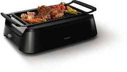New Philips Avance Indoor Grill Bundle w/ Two Grill Grates -