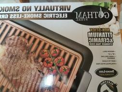 NEW in Box GOTHAM STEEL ELECTRIC SMOKE-LESS GRILL & GRIDDLE