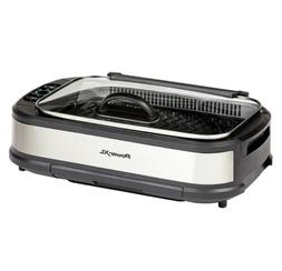 NEW  Power XL Smokeless Grill Pro with Hinged Lid    1500 wa