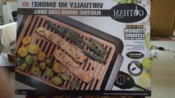 NEW Gotham Steel Smokeless Electric Grill XL Deluxe As Seen