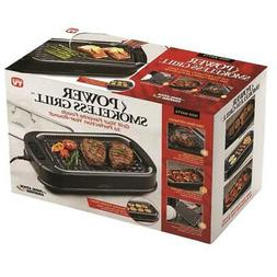 New Power Smokeless Grill Smoke Extractor Technology Nonstic