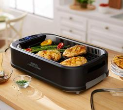 NEW Power Smokeless Indoor Electric 1200W Grill Non Stick BB