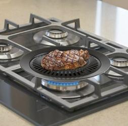 New Smokeless Indoor Stove Top BBQ Grill