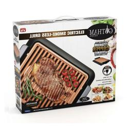 NIB Gotham Steel Smokeless Electric Grill with Non-Stick Sur