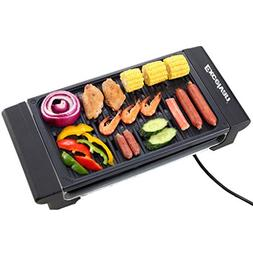 Excelvan Portable 1120W Electric Barbecue Grill Adjustable T