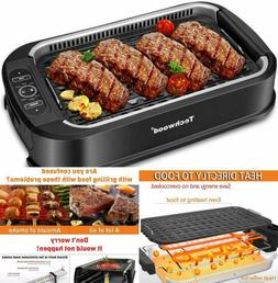 Portable Electric Smokeless Compact Indoor Grill Non-Stick B