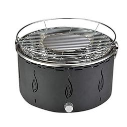 Portable Indoor Outdoor Smokeless BBQ Charcoal Lotus Grill A