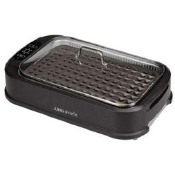 Honesty Power Smokeless Grill with Tempered Glass Lid and Tu