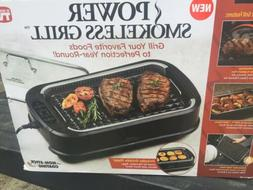 PowerXL Smokeless Grill with Tempered Glass Lid with Interch