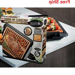 Gotham Steel Smokeless Electric Grill & Griddle