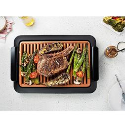 Smokeless Electric Grill and Griddle - Indoor BBQ Grill, Por
