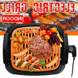 Smokeless Electric Grill Portable Nonstick Indoor Outdoor BB