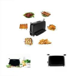 Hekitech Smokeless Electric Grill Stainless Steel Barbecue M