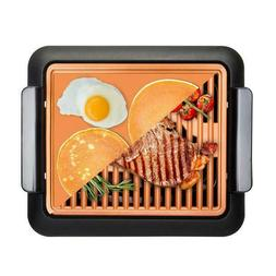 Gotham Steel Smokeless Electric Grill with Interchangeable G