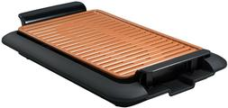 smokeless electric grill with non stick surface