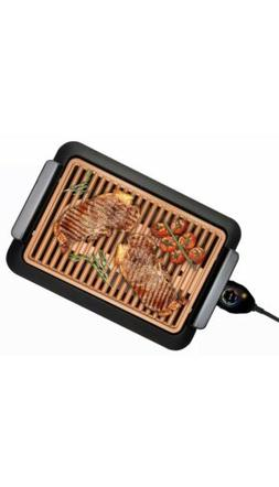 Gotham Steel Smokeless Electric Grill XL, As Seen on TV, Non