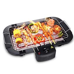smokeless electric grill