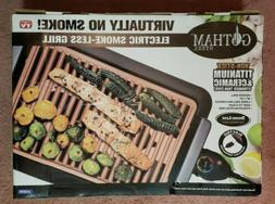 Gotham Steel Smokeless Electric Indoor Grill & Griddle Porta