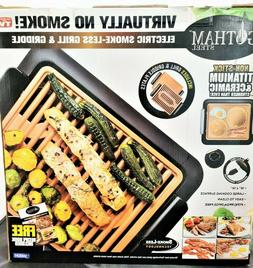 Gotham Steel Smokeless Electric Indoor Grill and Griddle