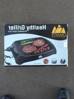 smokeless electric non stick grill indoor healthy