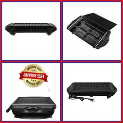 Smokeless Electric Non Stick Grill Indoor Healthy Cooking Ko