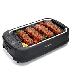 smokeless grill electric bbq plate searing grill