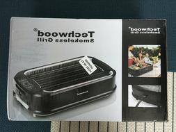 Techwood Smokeless Grill indoor Power Electric Grill Compact