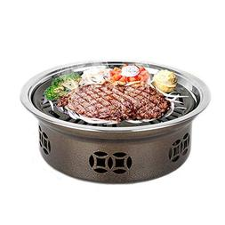 Jenify Smokeless Grill Indoor, Home Charcoal Stainless Steel
