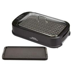 Power Smokeless Grill With Tempered Glass Lid Interchangeabl