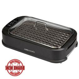 Smokeless Indoor Electric Grill POWER 1200 Watts XL Non-Stic