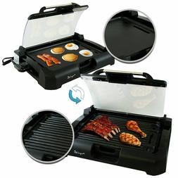 Smokeless Indoor Electric Grill 1800 Watts Non-Stick BBQ Rem