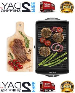 Smokeless Indoor Electric Grill And Griddle POWER XL Non-Sti