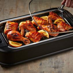 Smokeless Indoor Electric Grill Cerami-Tech Non-Stick Coatin