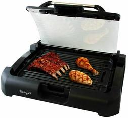 Smokeless Indoor Electric Grill Non-Stick BBQ Removable w/ G