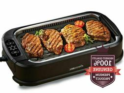 power 1500 watts xl nonstick bbq smokeless