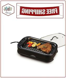 Smokeless Indoor Electric Power Grill 1200 Watts Non Stick B