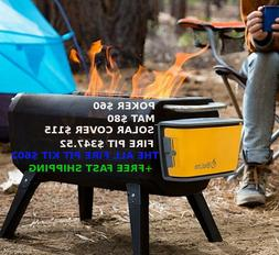 Smokeless Portable Fire Pit and Grill Enjoy all the benefits