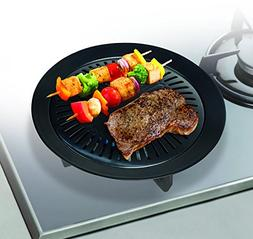 Smokeless Stove Top Grill Indoor Grilling Non Stick Barbeque