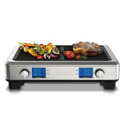 Krups Stainless Steel Digital Indoor Smoke Less Grill W/TEMP