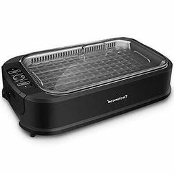 Techwood Indoor Smokeless Grill 1500W Power Electric Grill w