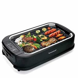 techwood indoor smokeless grill with advanced smoke