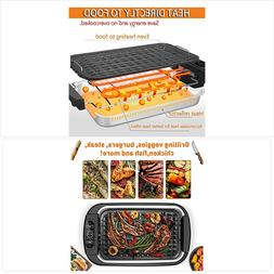 Techwood Smokeless Grill indoor Grill Power Electric Grill,