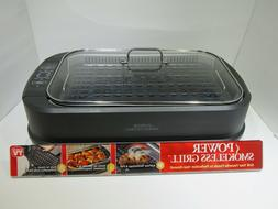 Power Smokeless Grill with Tempered Glass Lid - As Seen On T