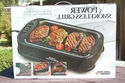 Power Smokeless Grill Tempered Glass Lid interchangeable Gri
