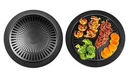 Ultimate Non-Stick Surface Healthy Smokeless Stove Top Grill