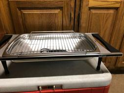 VTG WEST BEND Smokeless Electric Indoor Broiler Grill Rotiss
